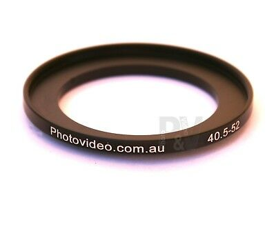 Step Up Ring 40.5-52mm  40.5mm 52mm - NEW