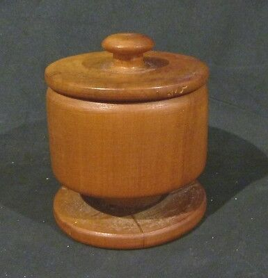 NZ Timbers  TOTARA ROUND  LIDDED TRINKET BOX