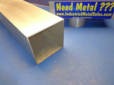 "5"" x 36""-long x 1/8"" Wall 6063 T52 Aluminum Square Tube-->5"" x .125"" wall"