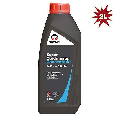 Comma Super Coldmaster Antifreeze Coolant Concentrate 2Litre (BLUE)