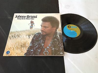"""Original 1974 Australian MGM soul LP Johnny Bristol """" Hang On In There Baby """""""