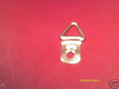 200 small D Rings picture frame Triangle hangers framing crafts