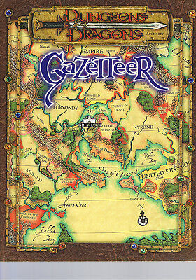 Dungeons & Dragons Gazetter SC