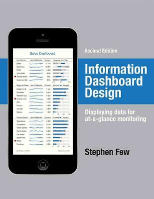 Information Dashboard Design: Displaying Data for At-A-Glance Monitoring by Step