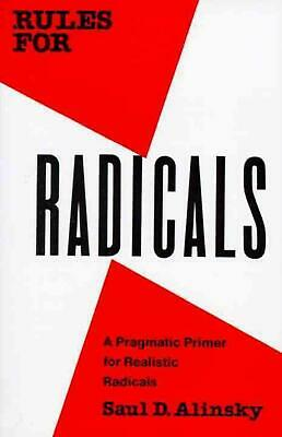 Rules for Radicals by Saul Alinsky (English) Paperback Book Free Shipping!