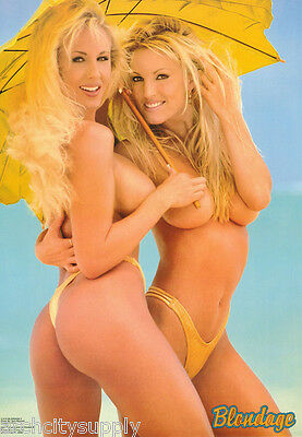 Poster : Blondage Ii  - Sexy Female Models -  Free Shipping !  #3115  Lp53 M
