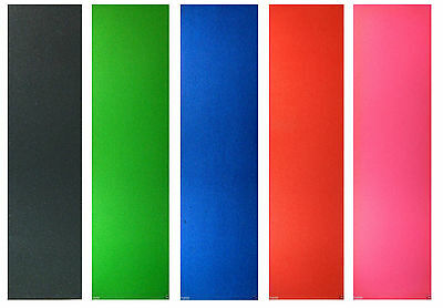 "Skateboard Colored Grip Tape 9"" x 33"" Multiple Colors to Choose"