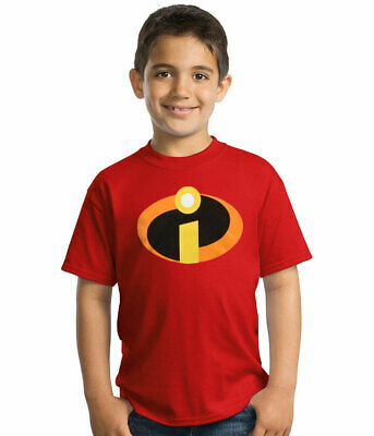 The Incredibles Movie Symbol Logo Youth Kids T-Shirt New