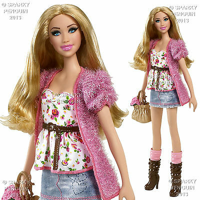 COLLECTABLE PRETTY N' LOVE BARBIE STARDOLL FASHION STYLE 1 INC. STYLISH OUTFIT