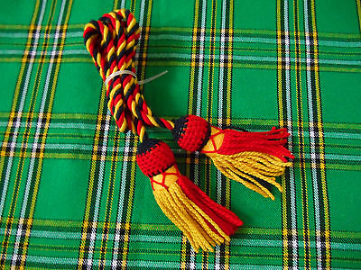 Bugle Cord Multy Coloured Wool/ Bugle Cord Pure Wool