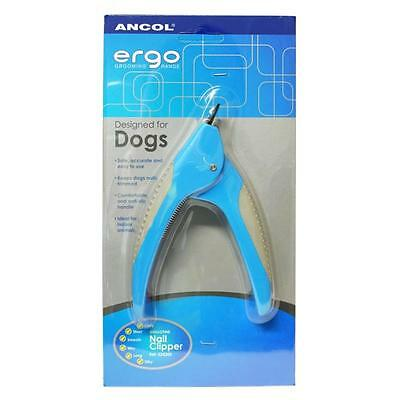 Ancol Ergo Guillotine Dog Puppy Cat Nail Clippers Trimmers Grooming Tool
