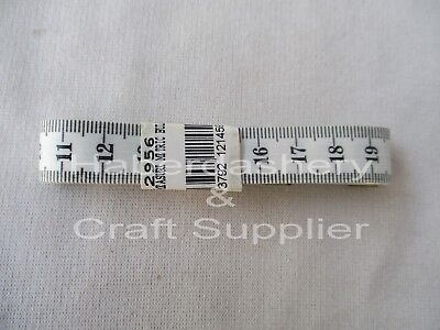 Tape Measure White With Black Numbers Loose*metric