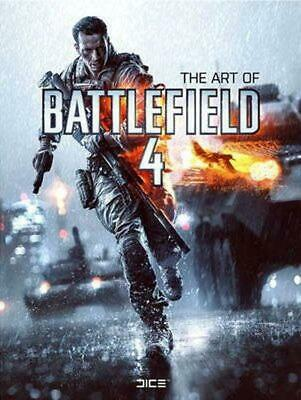 The Art of Battlefield 4 by Titan Books Hardcover Book (English)