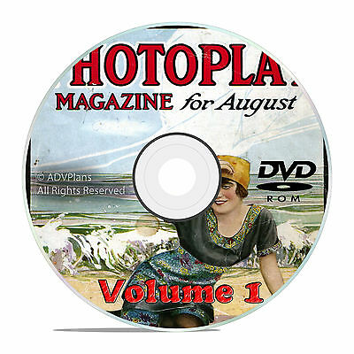 Classic Photoplay Fan Magazine Collection, Vol 1 DVD, 1914-1929, 176 issues, V28
