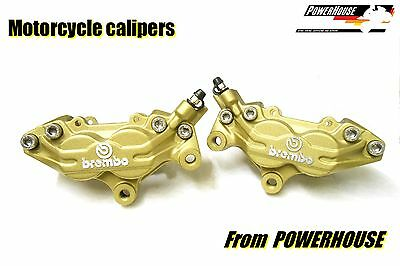 Ducati 748 996 998 ST4 Brembo Goldline front brake calipers refurbished exchange