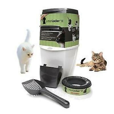 Litter Locker II Revolutionary Cat Kitten Litter Disposal System Unit PROMOTION