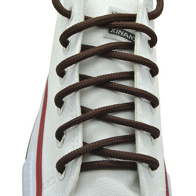 """27"""",36"""",45"""",54"""", Round """"Brown"""" Athletic Sneaker String Shoelaces"""