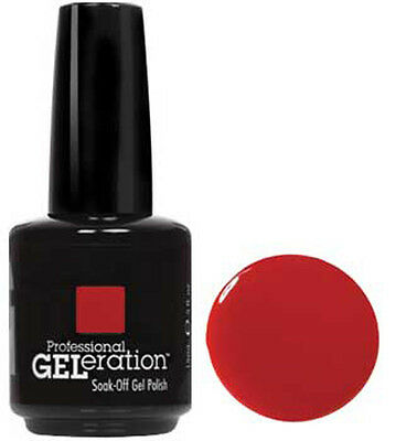 Jessica Geleration UV Gel Polish Royal Red - .5 fl oz GEL120