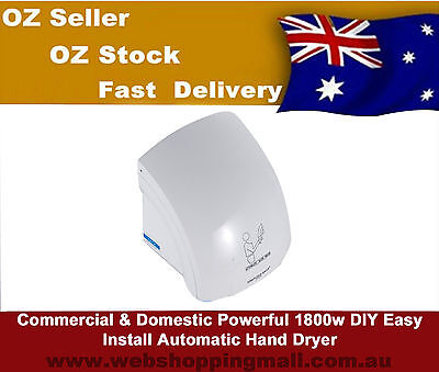 Commercial & Domestic Powerful 1800w DIY Easy Install Automatic  Hand Dryer