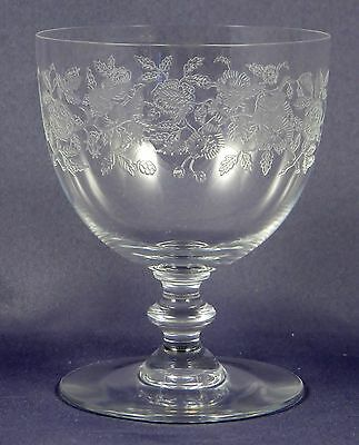 BACCARAT CRYSTAL Blue Tower Red Wine Glass