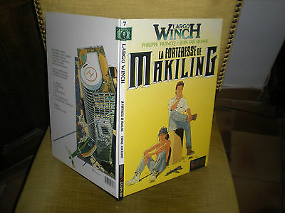 Largo Winch N°7 La Forteresse De Makiling - Edition Originale Juin 1996