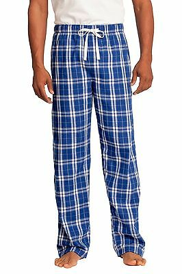 NEW District Young Mens Flannel Plaid Pants Loungewear Pajama XS-4XL DT1800