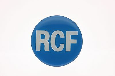 RCF Crystal Bubble Top Logo Badge 65mm