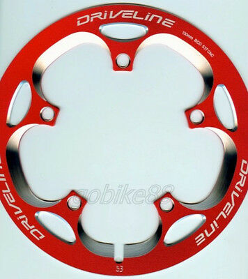 75g gobike88 Driveline Chainring Guard 44T S20 BCD 104mm Red