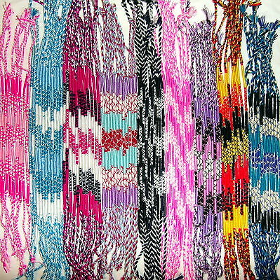 Thai  Cotton Friendship  Bracelet Band  !!    9  Colours To Choose From - New !!