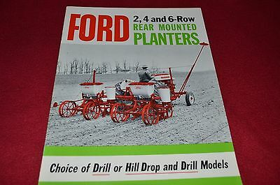 Ford Tractor 2, 4, 6, Row Rear Mounted Planters Dealer's Brochure LCPA