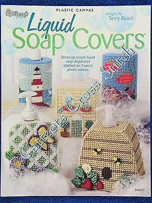 Plastic Canvas Pattern Liquid Soap Covers Penguin +