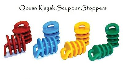 NEW Ocean Kayak Scupper Stoppers Plugs (Set of 2)