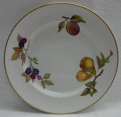 Royal Worcester EVESHAM GOLD Bread Plate BEST! Multiple Available ENGLAND