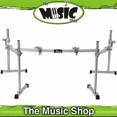 New Pearl DR-503C 3 Sided Curved Drum Rack with 4 Clamps - DR503C