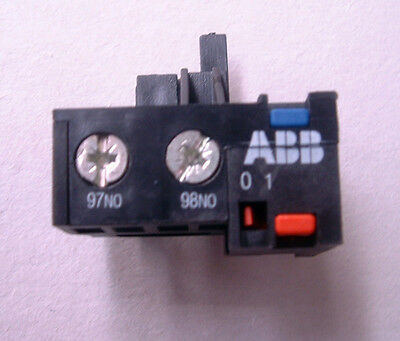 ABB CAT6 1 N/O Auxiliary Contact Block for T6-DU. GJZ1001903R0001