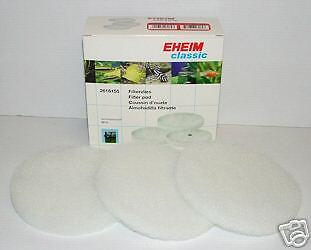EHEIM 2616155 CLASSIC 2215 FILTER FINE FOAMS x3 aquarium