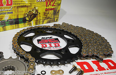 BMW F800 GS TROPHY  DID 525 X-Ring CHAIN AND SPROCKETS KIT