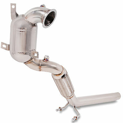 200Cpi Sports Cat Stainless Steel Exhaust Downpipe For Vw Golf Mk7 1.4 Tsi Turbo