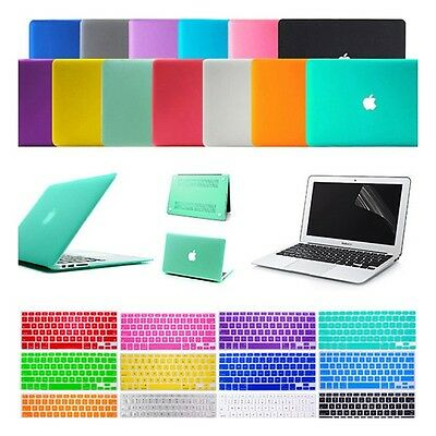 "Hard Case Shell For Apple Mac MacBook Air 13"" 1.3"" inch +Keyboard cover"