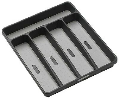 Madesmart Small, Granite, Silverware Tray, 5 Compartment
