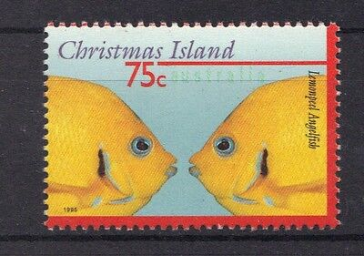 STAMPS from AUSTRALIA  CHRISTMAS ISLAND 1995 MARINE LIFE 75c FISH  (MNH) lot 819