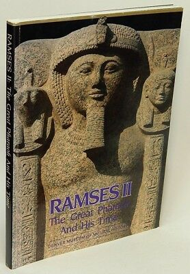 Ramses II: The Great Pharaoh & His Time by Rita E. FREED VG Softcover 76788