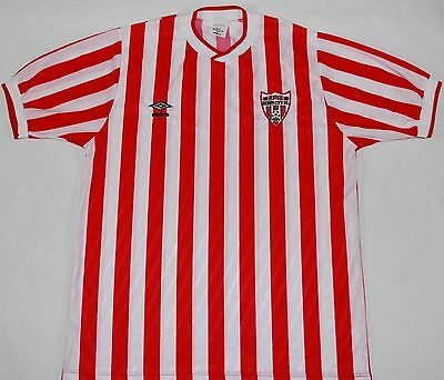 1988-1990 Derry City Umbro Home Football Shirt (Size L)