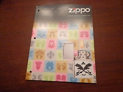 2004 Fall Choice Zippo Lighter Catalog Unused