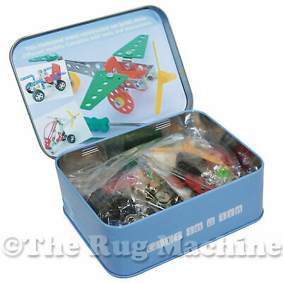 MINI MECHANIC SET - Gift In A Tin - 3 Metal Models To Build Kids Gift *NEW*