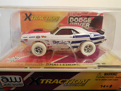 AUTO WORLD ~ '71 DODGE CHALLENGER ~ RARE  I WHEELS ~ ALSO FITS AFX, AW, JL