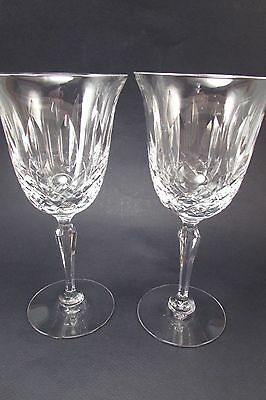 Tiffin Crystal ELYSE Water Goblets - Set of Two