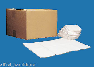 "SANITARY LINERS for Baby Changing Stations 13""x18"" Waterproof Prefolded Qty: 500"