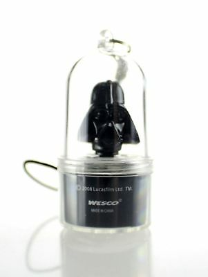 Star Wars Darth Vader Spinnerz LED Mobile Phone Charm Collectable Black New