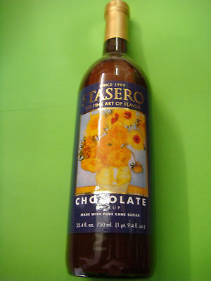 CHOCOLATE 750ml COFFEE-FLAVOURING AND COCKTAIL-FLAVOURING SYRUP BOTTLE BRAND-NEW